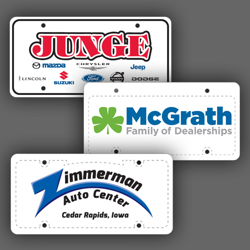 Automotive Dealer Plates